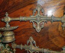Ancien chandelier de piano