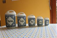 Série pot de porcelaine - cuisine