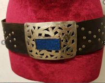 Grosse ceinture cuir