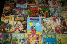 lot de 30 petits formats années 1960 debut 80