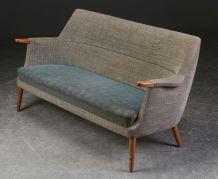 Canapé trois places en laine – Poul M. Jessen