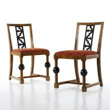 chaises vintage luckyfind. Black Bedroom Furniture Sets. Home Design Ideas