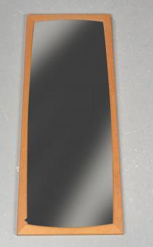 Miroir avec cadre de chêne