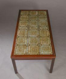 Table basse avec céramique