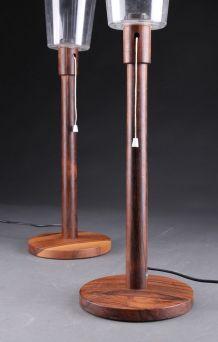 Deux lampes de table Uno & Östen Kristiansson