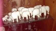 elephant en ivoire 1950