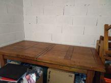 Table chêne massif