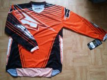 T-shirt de moto AXO orange