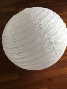 Lustre boule japonaise