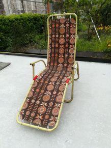Chaise longue années 60