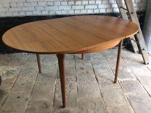 Table de salle à manger vintage extensible