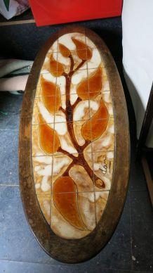 Table basse céramique 80'