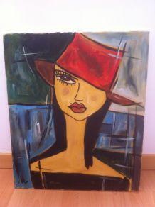La fille au chapeau rouge