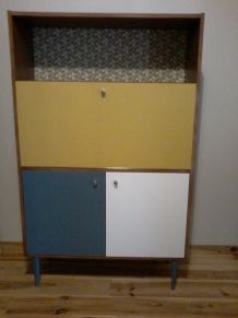 Secrétaire vintage relooké