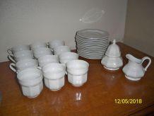service de 26 pièces porcelaine gallo leonardo