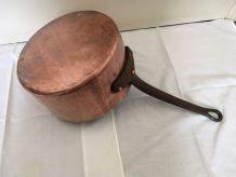casserole cuivre étamée 22cm