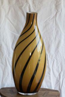 Vase en verre style murano