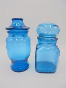 Pots bleus
