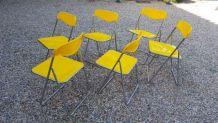 Superbe chaises et table vintage