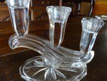 Chandelier ancien en verre