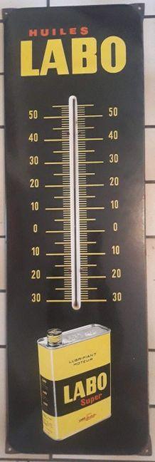 Thermomètre LABO
