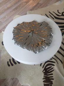 Plateau feuille de lotus Alessi Neuf