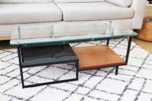 Table basse Georges Frydman EFA moderniste design