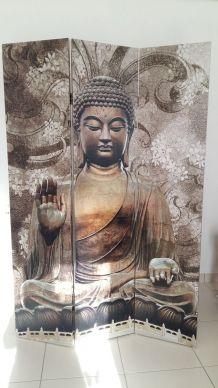 Paravent Bouddha