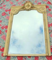 Grand Miroir doré XIXème 170x105cm