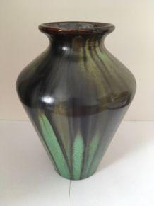 Vase grès flammé Art Nouveau Faïencerie de Bouffioulx 9330