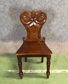 Chaise Victorienne XIXème en acajou