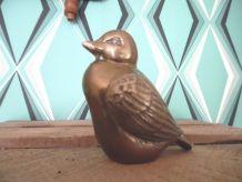Petit oiseau en  laiton