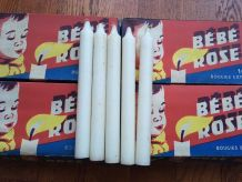 Bougies Blanches 20cm