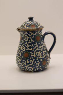 cafetière alsacienne de soufflenheim  1900 rare