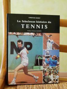 livre La fabuleuse histoire du Tennis