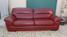 canapé cuir trois places