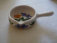 Plat Caquelon poterie des Marais