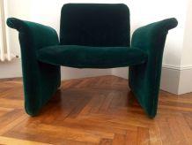 fauteuil chauffeuse années 70