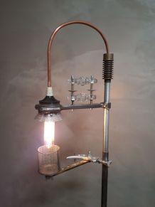 lampadaire vintage creation type indus