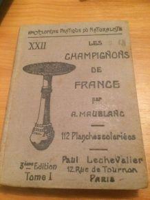 Les champignons de France 1939 A.Maublanc