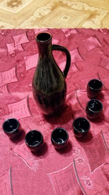 Set pichet + tasses en porcelaine U.R.S.S. 1989 neuf