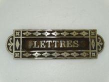 boite aux lettres camion freres bronze