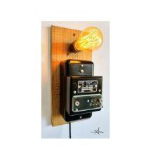 """Lampe murale industrielle, Applique vintage - """"Complètement"""