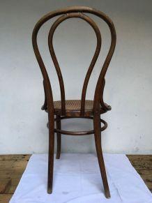 Chaise de bistrot J. KOHN