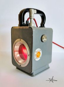 "Lampe industrielle, lampe vintage - ""En Gare !"""