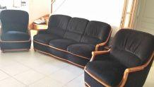 Canapé + 2 fauteuils à vendre