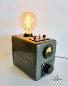 """Lampe industrielle, lampe vintage - """"Le Révolté"""""""