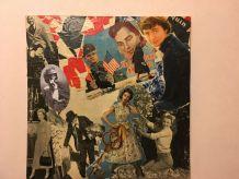 """Composition """"La clé du temps"""" Collage revue ancienne"""