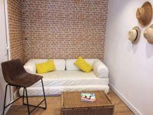 Canapé blanc IKEA-convertible King Size