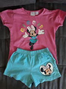 Ensemble de pyjama Minnie